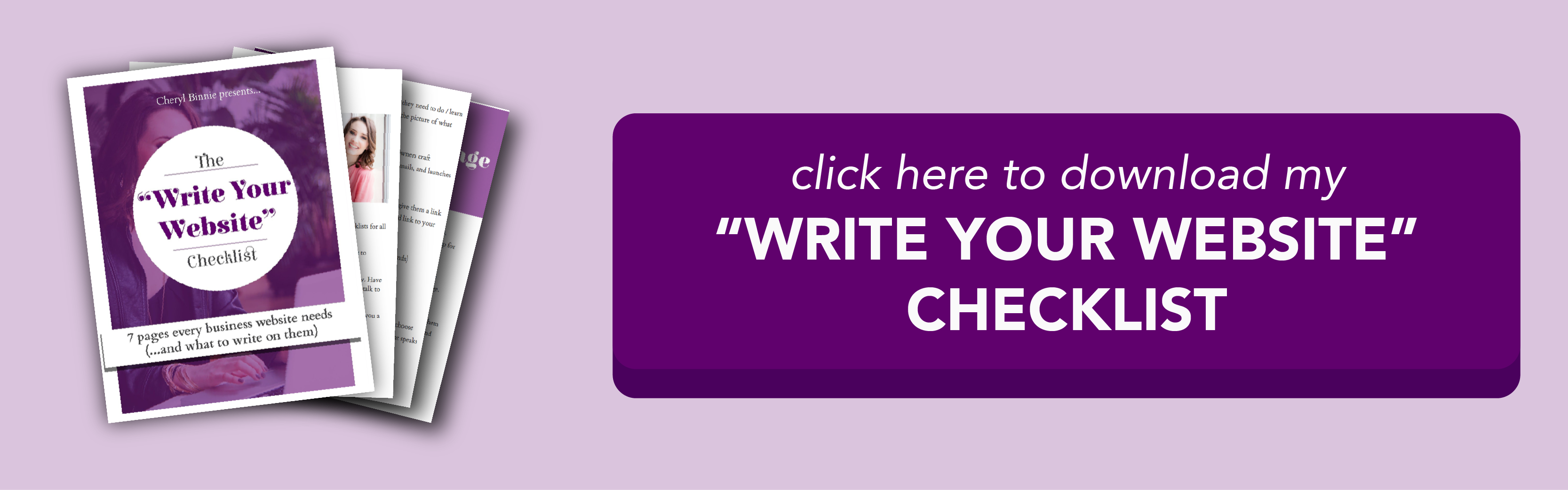 Click here to get the Write Your Website Checklist