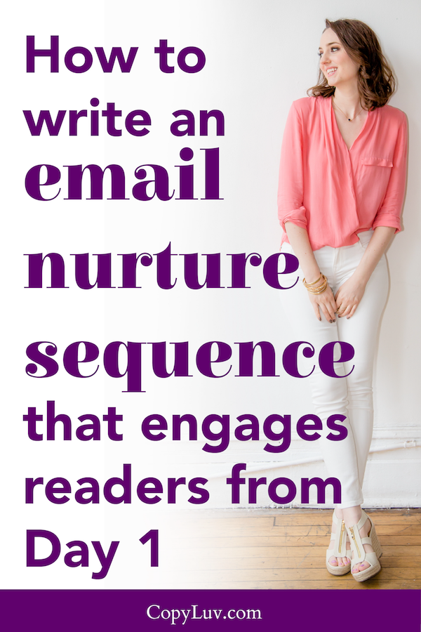 How to write an email nurture sequence that engages your new readers from Day 1