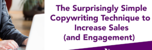 Simple Copywriting Tricks: How to write a bullet list that fascinates, engages & increases sales