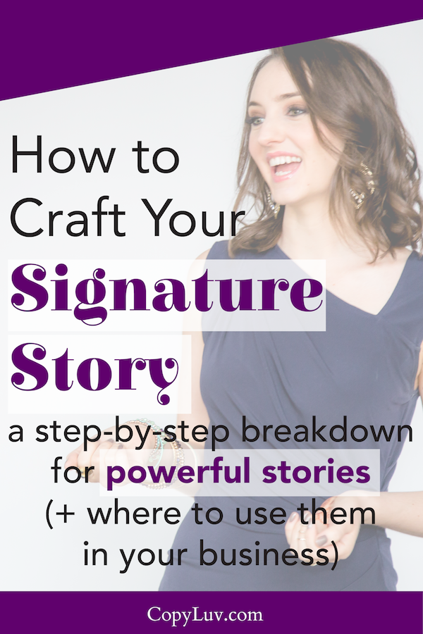 Want to ENGAGE your audience & readers? Use stories! Here's how to craft a powerful story that'll resonate with your ideal clients...