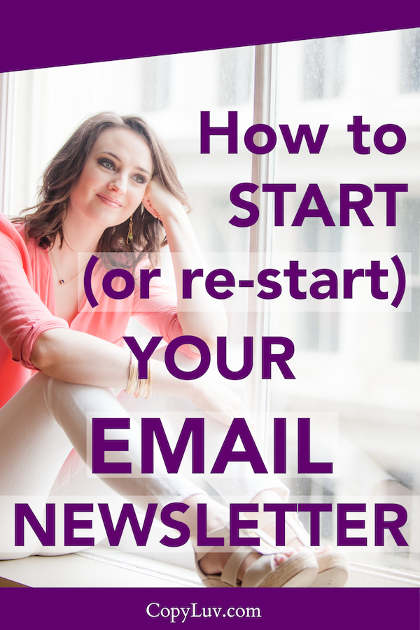 Title Image: How to Start (or Re-Start) Your Email Newsletter