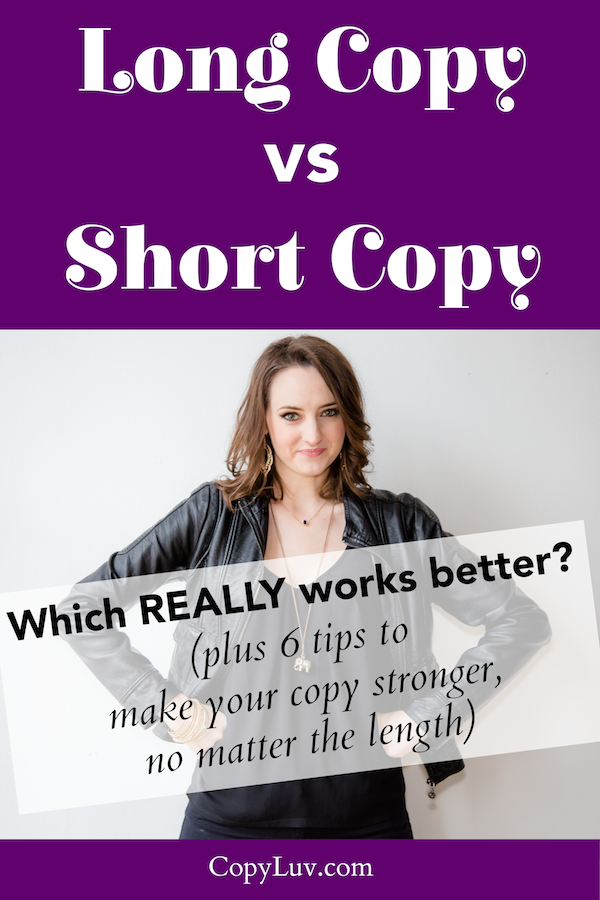 Title Image:Long Copy vs Short Copy